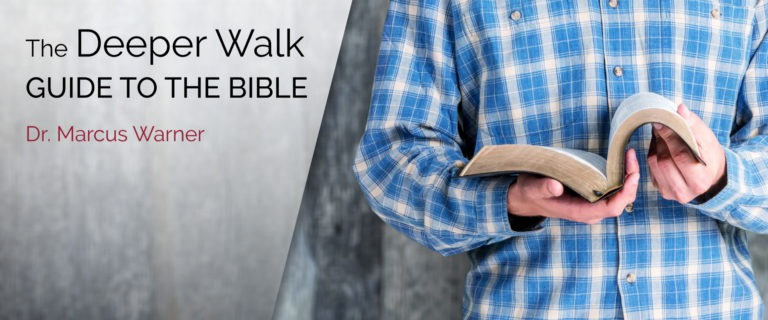 the deeper walk guide to the bible