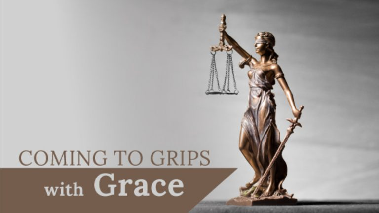 Coming to grips with Grace