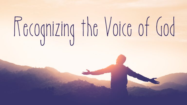 recognizing the voice of god blackaby